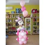 Μπουκέτο Minnie Mouse για νεογέννητο κοριτσάκι
